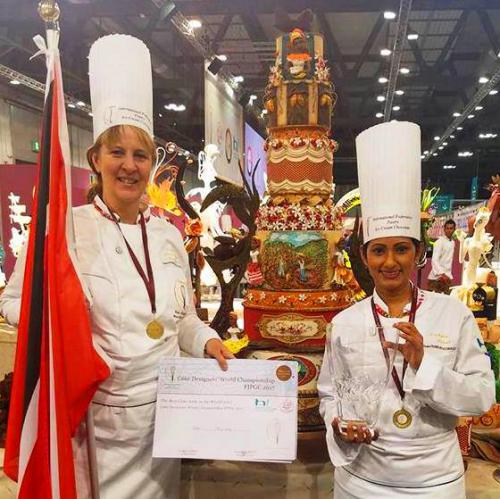 2017 FIPGC World Cake Competition Team Trinidad & Tobago Milan, Italy