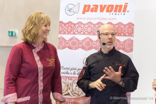 Ron Ben Israel & Kathleen at The Cake Festival - Milan, Italy - October 2014