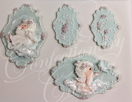 Baby Cherubs - English Pressure Piping - 1/2015