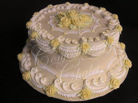 Wisteria Lambeth Birthday Cake - 2011
