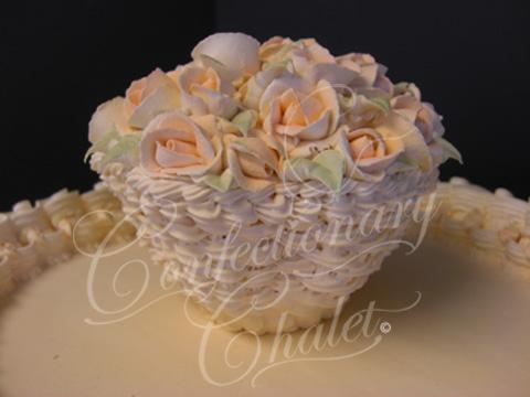 Basket of Roses - Lambeth Cake - 2007