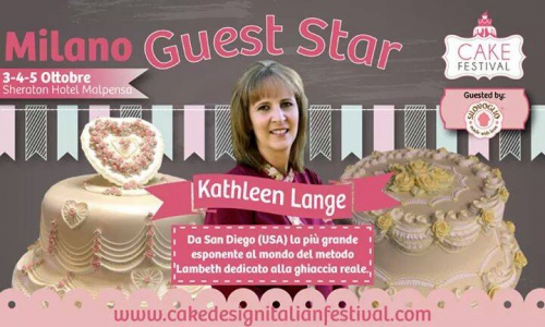 Kathleen Guest Start - The Cake Festival - Milan, Italy - October 2014