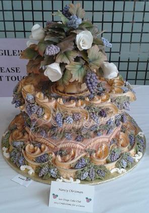 Nancy Chrisman - Best of Show  SD Cake Show, CA 2013