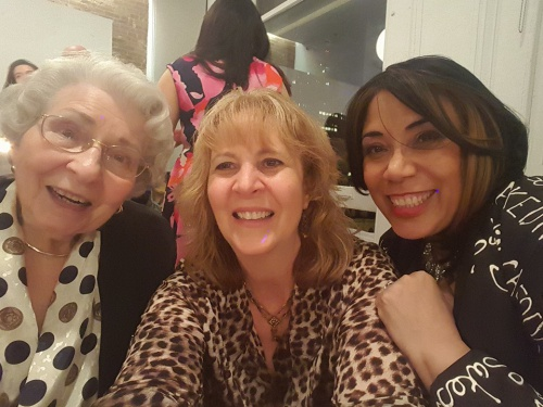 The New York Cake Cocktail Party - Kathleen, Betty & NY Cake Diva- May 2016