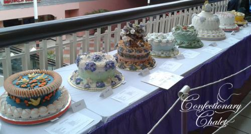 Master Student's Cakes SD Cake Show, CA 2013