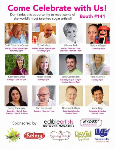 Edible Artist Magazine - Featuring Int'l Artist - September 2015