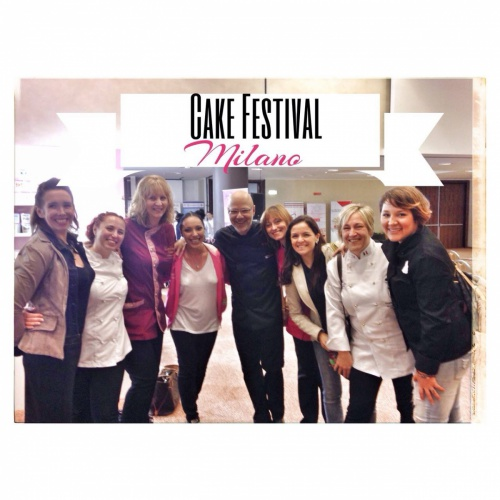 Int'l Artist Attending The Cake Festival - Milan, Italy - October 2014